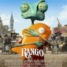 Rango Regular Original Theatrical Movie Poster  Double Sided 27 X40
