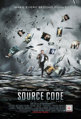 Source Code Original Movie Poster  Double Sided 27 X40
