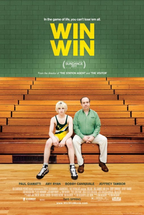 Win win Original Movie Poster  Double Sided 27 X40