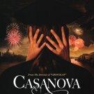 Casanova Advance Original Movie Poster Double Sided 27x40