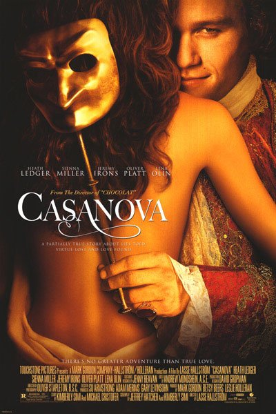 Casanova International Original Movie Poster Double Sided 27x40