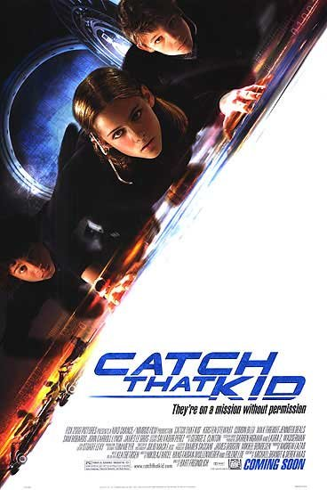 Catch That Kid Original Movie Poster Double Sided 27x40