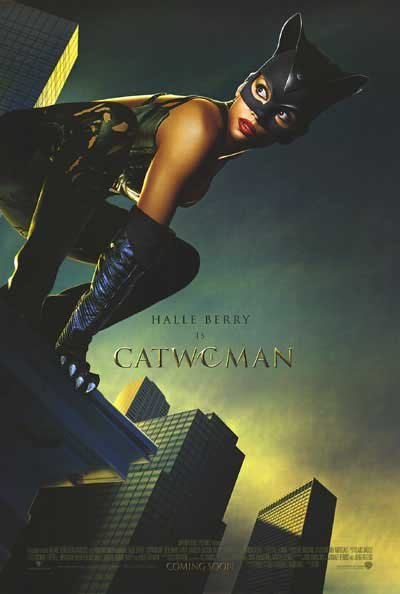 Catwoman Original Movie Poster Double Sided 27x40
