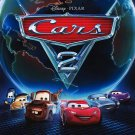 Cars 2 Version B Original Movie Poster  Double Sided 27 X40