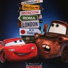 Cars 2 Version C Original Movie Poster  Double Sided 27 X40