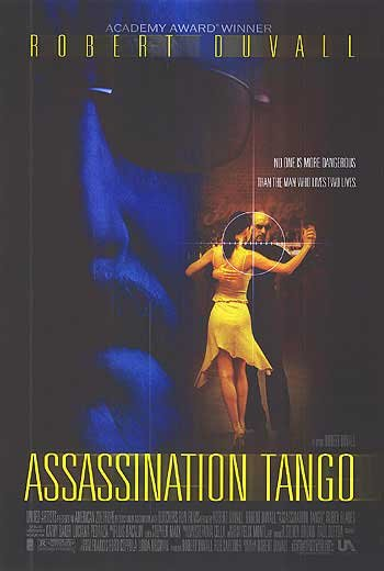 Assassination Tango Double Sided Original Movie Poster 27x40