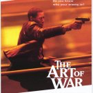 Art of War Original Movie Poster  Double Sided 27 X40