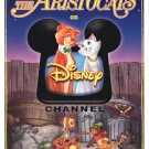 Aristocats Disney Channel Single Sided Original Movie Poster 27x40