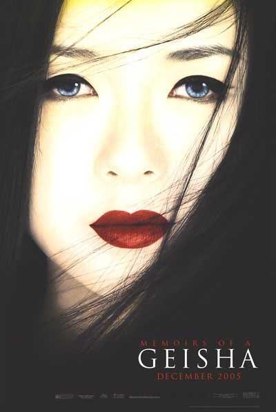 Memoirs of Geisha Advance Original Movie Poster Single Sided 27x40