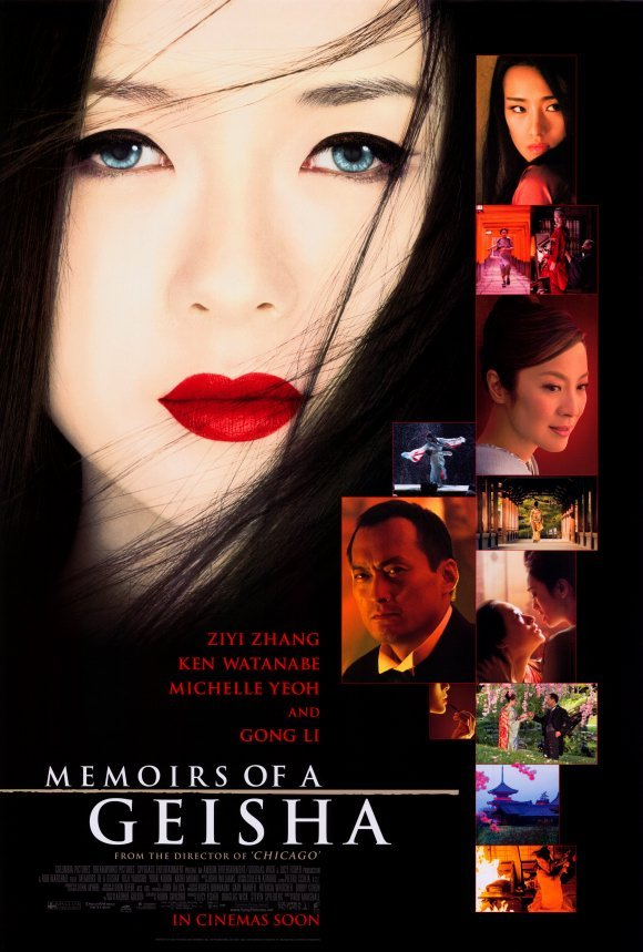 Memoirs of Geisha International Original Movie Poster Double Sided 27x40