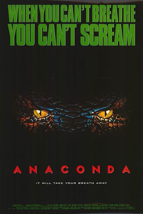 Anaconda Original Movie Poster Single Sided 27x40