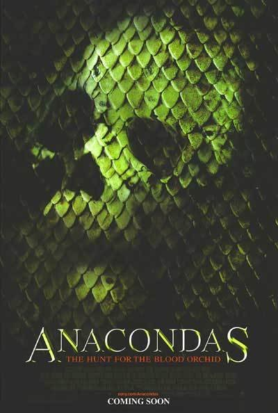 Anacondas : The Hunt for the Blood Orchid Advance Original Movie Poster Coverstock
