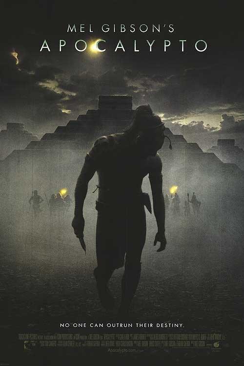 Apocalypto Original Movie Poster  Double Sided 27 X40