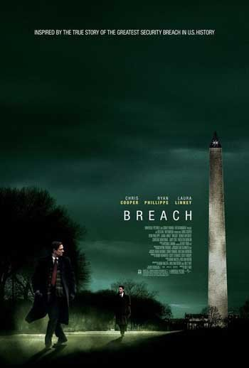 Breach Original Movie Poster Double Sided 27x40