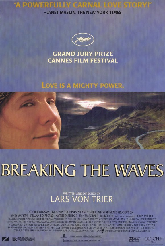 Breaking The Waves Original Movie Poster Single Sided 27x40