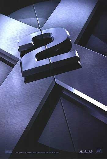 X-Men 2 Advance Original Movie Poster Double Sided 27x40