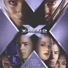 X-Men 2 Spanish Original Movie Poster Double Sided 27x40