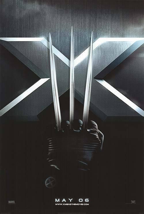 X-Men 3 Advance Original Movie Poster Single Sided 27x40