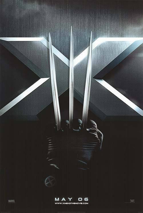 X-Men 3 Advance Original Movie Poster Double Sided 27x40