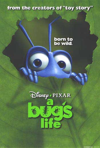 A Bug's Life Version B Original Movie Poster  Double Sided 27 X40