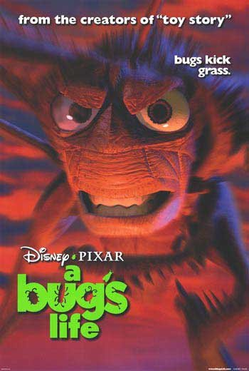 A Bug's Life Version E Original Movie Poster  Double Sided 27 X40
