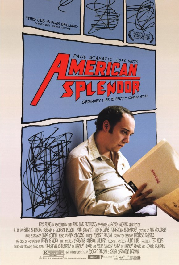 American Splendor Original Movie Poster Single Sided 27 X40