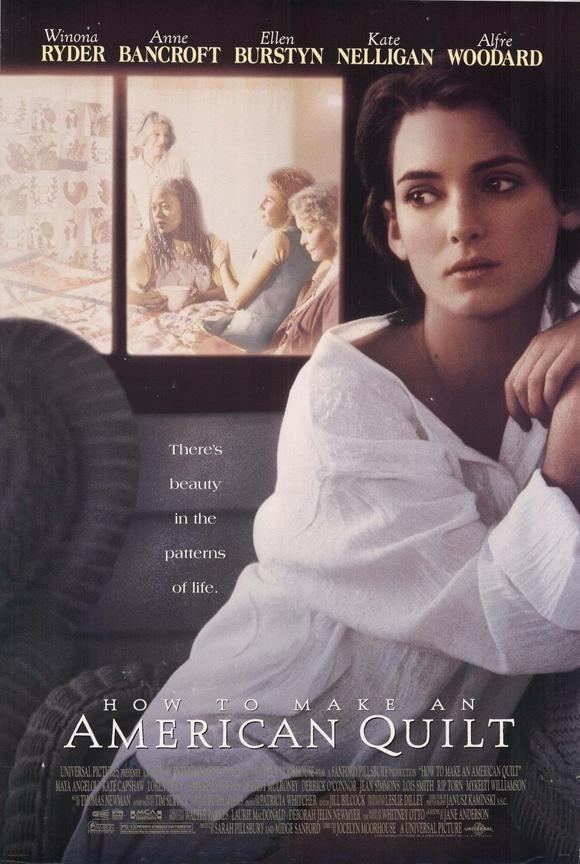 American Quilt Original Movie Poster Single Sided 27 X40