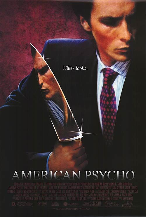 American Psycho Original Movie Poster Single Sided 27 X40