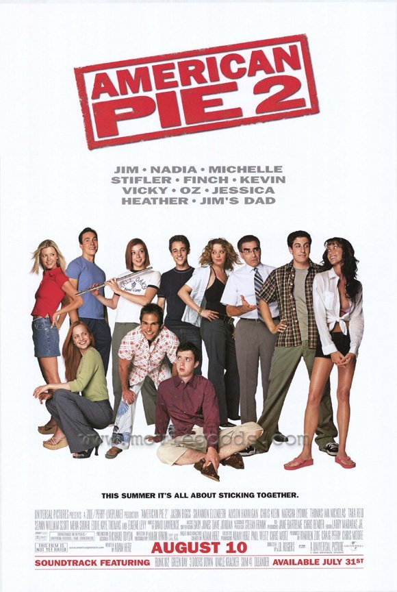 American Pie 2 Original Movie Poster Double Sided 27 X40