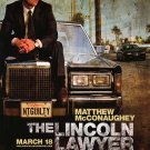 Lincoln lawyer Original Movie Poster  Double Sided 27 X40