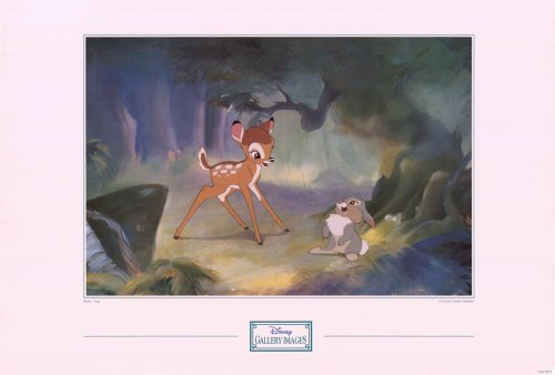 Bambi Disney Gallery Original  Movie Poster 24 X36