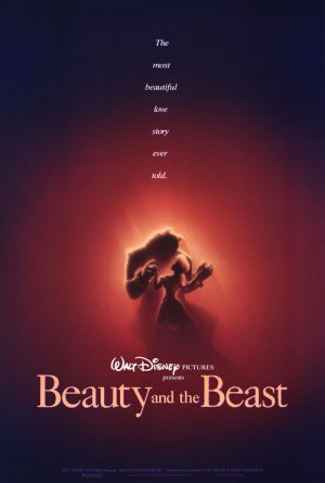 Beauty and the Beast Advance Double Sided Original Movie Poster 27x40