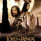 Lord of the Rings : Two Towers Regular Double Sided Original Movie Poster 27x40