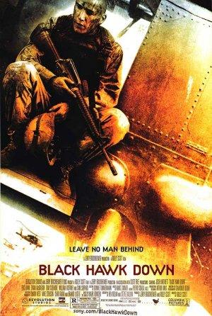 Black Hawk Down Regular COVERSTOCK Single Sided Original Movie Poster 27x40