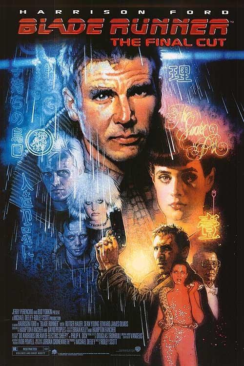 Blade Runner (Final Cut) Double Sided Original Movie Poster 27x40