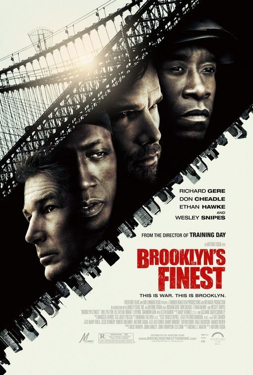 Brooklyn's Finest Single Sided Original Movie Poster 27x40
