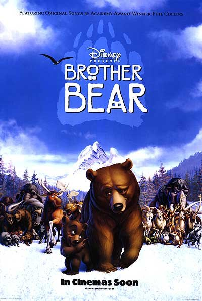 Brother Bear Intl  Double Sided Original Movie Poster 27x40