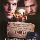 Brothers Grimm Regular  Double Sided Original Movie Poster 27x40