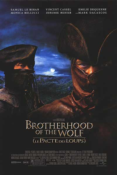 Brotherhood of the Wolf Original Movie Poster Double Sided 27x40