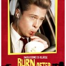 Burn After Reading Advance Brad pitt Single Sided Original Movie Poster 27x40