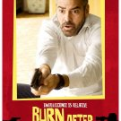 Burn After Reading Advance G. Clooney Single Sided Original Movie Poster 27x40