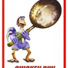 Chicken Run (Escape or Die frying) Double Sided Original Movie Poster 27x40