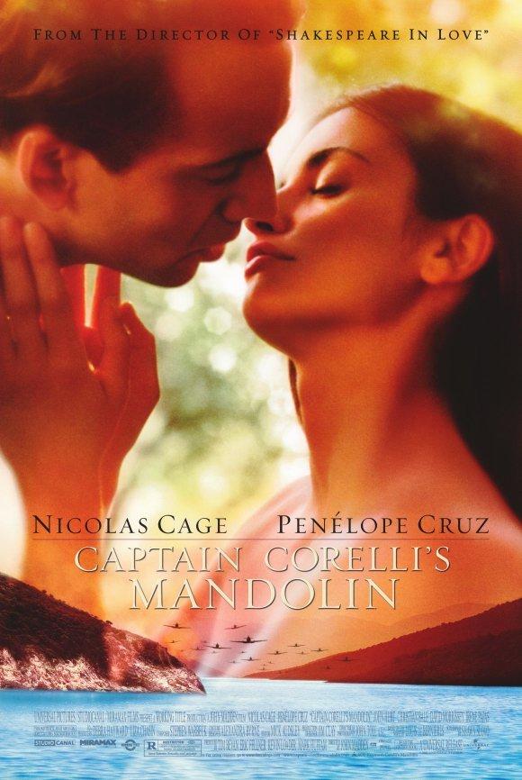 Captain Corellis's Mandolin Double Sided Original Movie Poster 27x40
