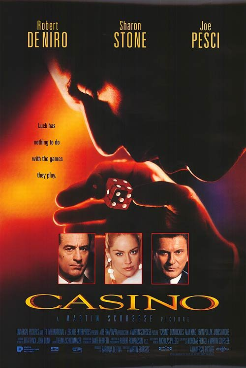 Casino Double Sided Original Movie Poster 27x40