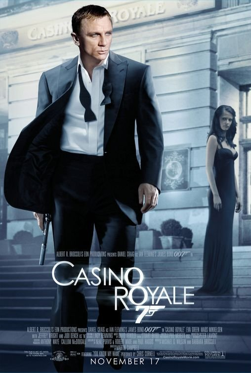 Casino Royale Regular Double Sided Original Movie Poster 27x40