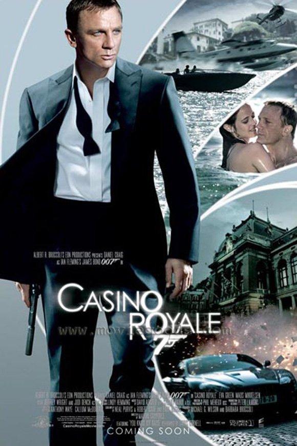 Casino Royale International Version B Double Sided Original Movie Poster 27x40