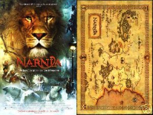 Chronicles of Narnia: The Lion, The Witch and the Wardrobe Back to Back 18x27 inches Movie Poster