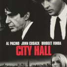 City Hall Original Movie Poster Double Sided 27x40