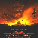 XXX : State of the Union Adv B Movie Poster 27X40 Orig Dbl Sided