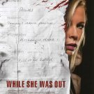 While She was Out Original Movie Poster  Double Sided 27 X40